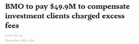 BMO overcharging